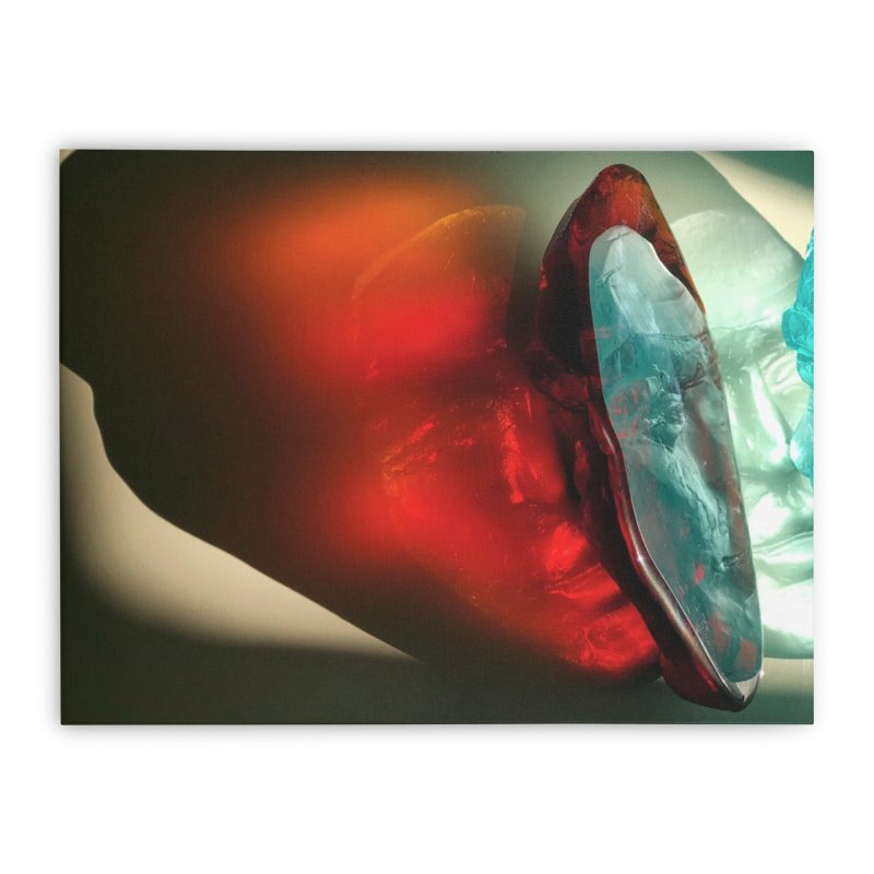 Spectrum - crystal sculpture by Igor Josifov Home Stretched Canvas by Equity International - Arts & Culture's Artist Sho