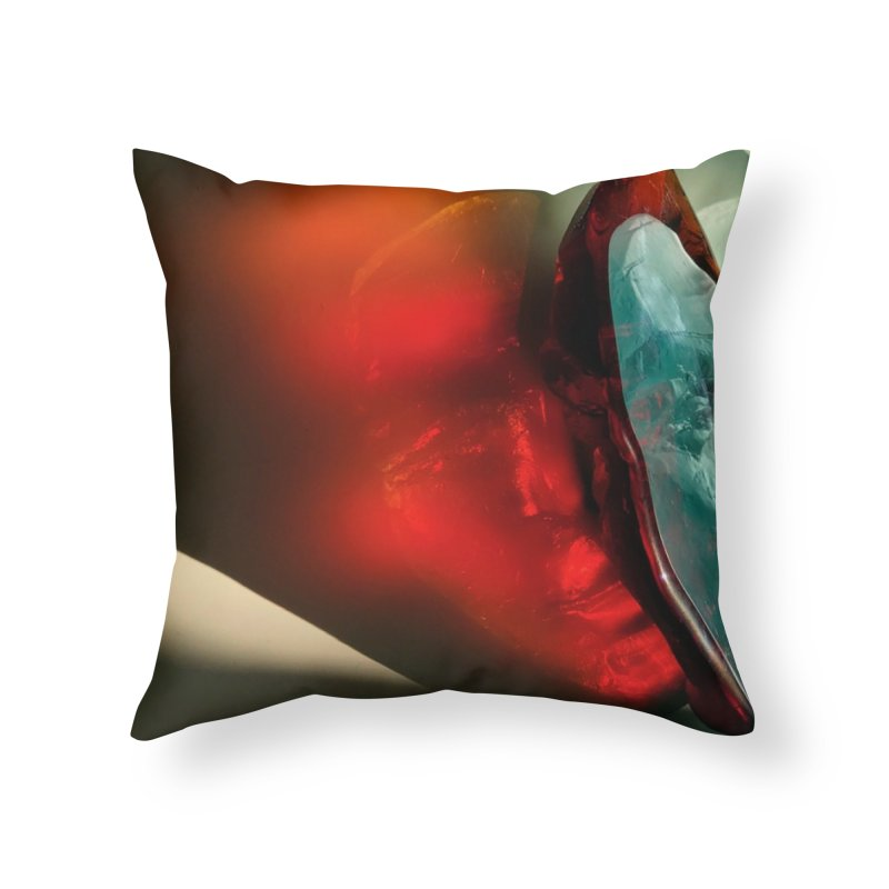 Spectrum - crystal sculpture by Igor Josifov Home Throw Pillow by Equity International - Arts & Culture's Artist Sho