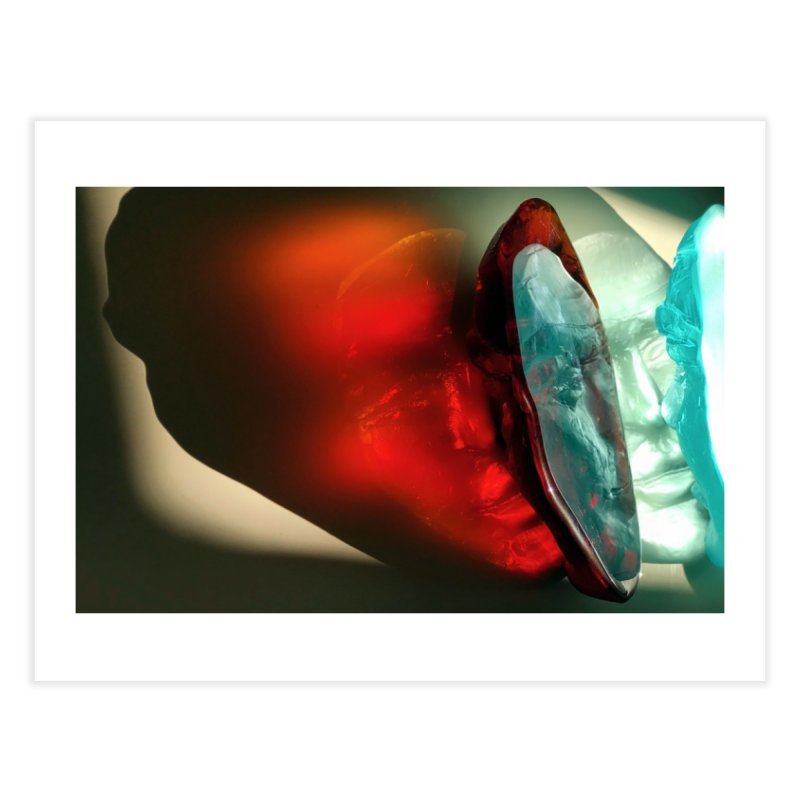 Spectrum - crystal sculpture by Igor Josifov Home Fine Art Print by Equity International - Arts & Culture's Artist Sho