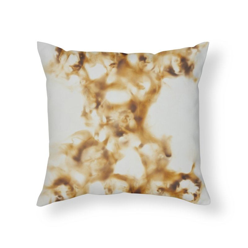 Faces of memory - fire reflection on paper by Igor Josifov Home Throw Pillow by Equity International - Arts & Culture's Artist Sho