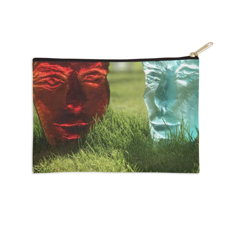 Morning dialogue - Igor Josifov Accessories Zip Pouch by Equity International - Arts & Culture's Artist Sho