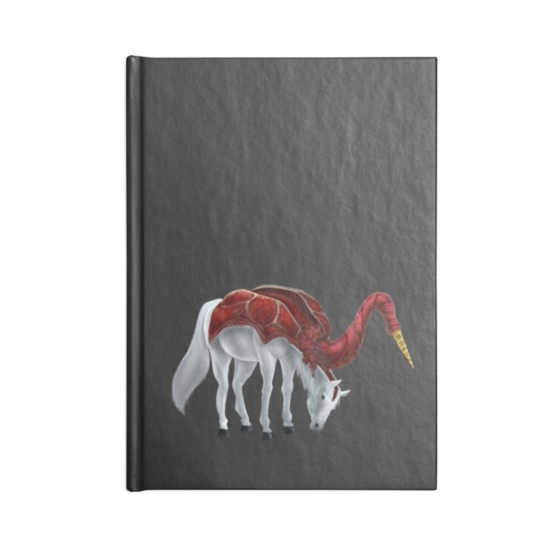 Mimicorn Accessories Blank Journal Notebook by Igzell's Artist Shop