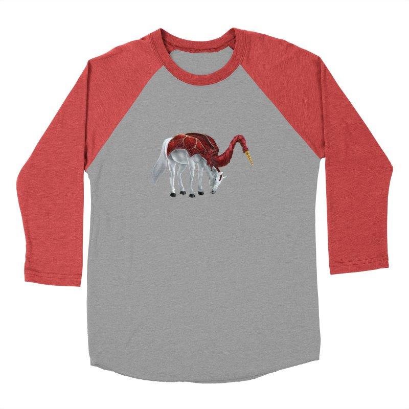 Mimicorn Women's Baseball Triblend Longsleeve T-Shirt by Igzell's Artist Shop