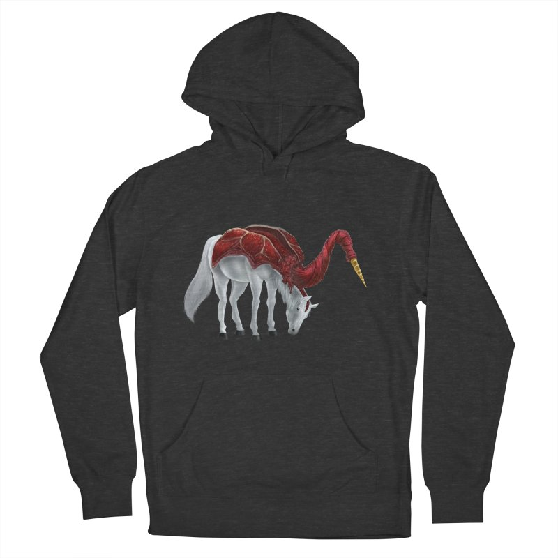 Mimicorn Women's French Terry Pullover Hoody by Igzell's Artist Shop