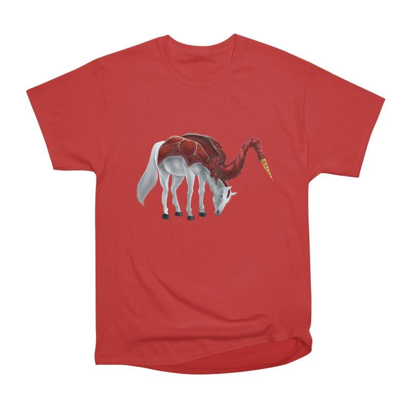 Mimicorn Women's Heavyweight Unisex T-Shirt by Igzell's Artist Shop