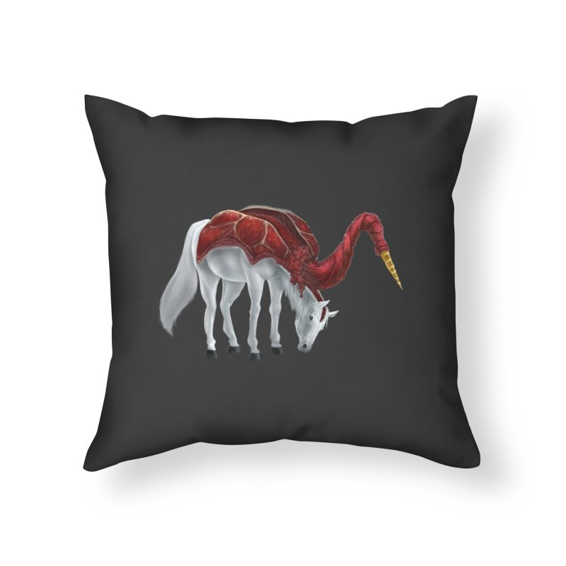 Mimicorn Home Throw Pillow by Igzell's Artist Shop