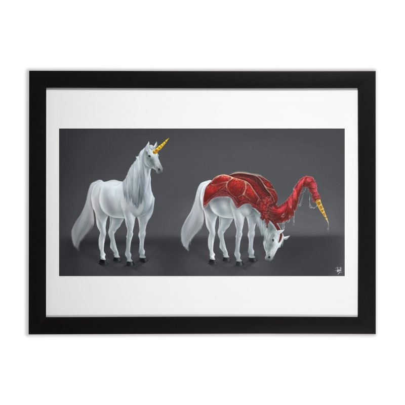 Mimicorn Home Framed Fine Art Print by Igzell's Artist Shop