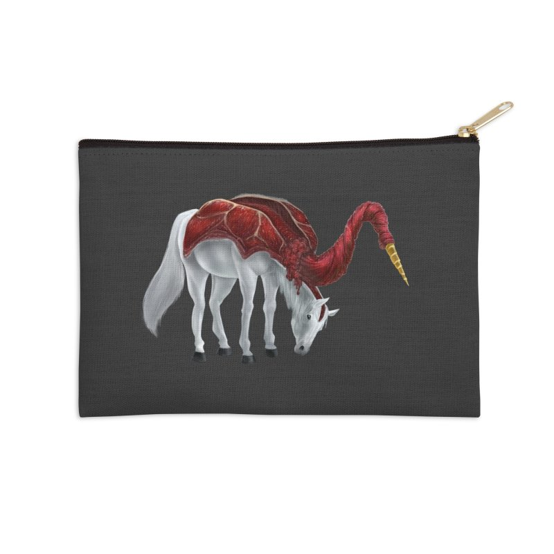 Mimicorn Accessories Zip Pouch by Igzell's Artist Shop