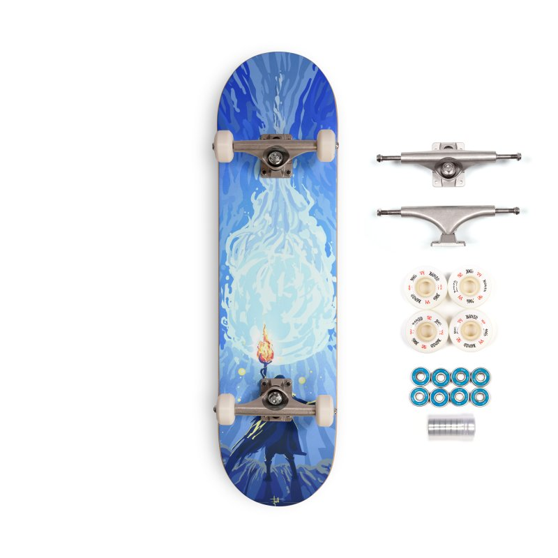 Snow ball Accessories Complete - Premium Skateboard by Igzell's Artist Shop