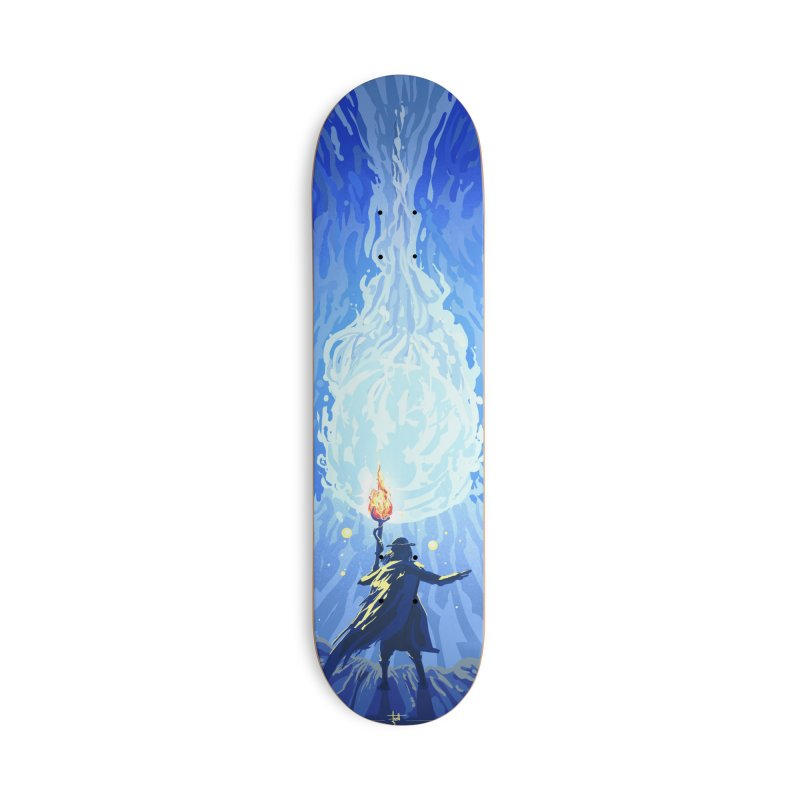 Snow ball Accessories Deck Only Skateboard by Igzell's Artist Shop