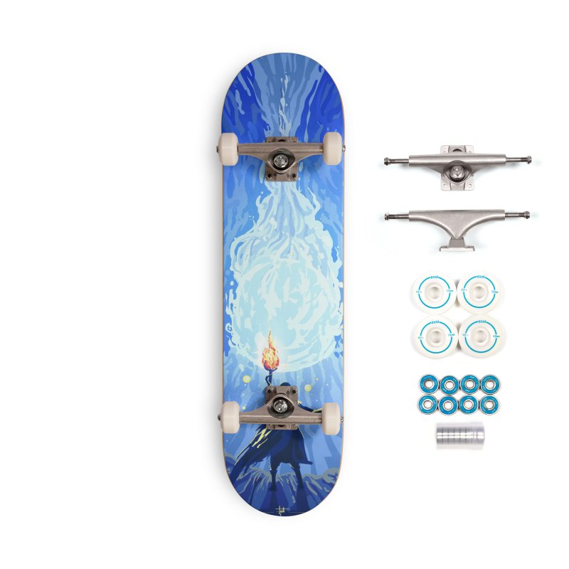 Snow ball Accessories Complete - Basic Skateboard by Igzell's Artist Shop