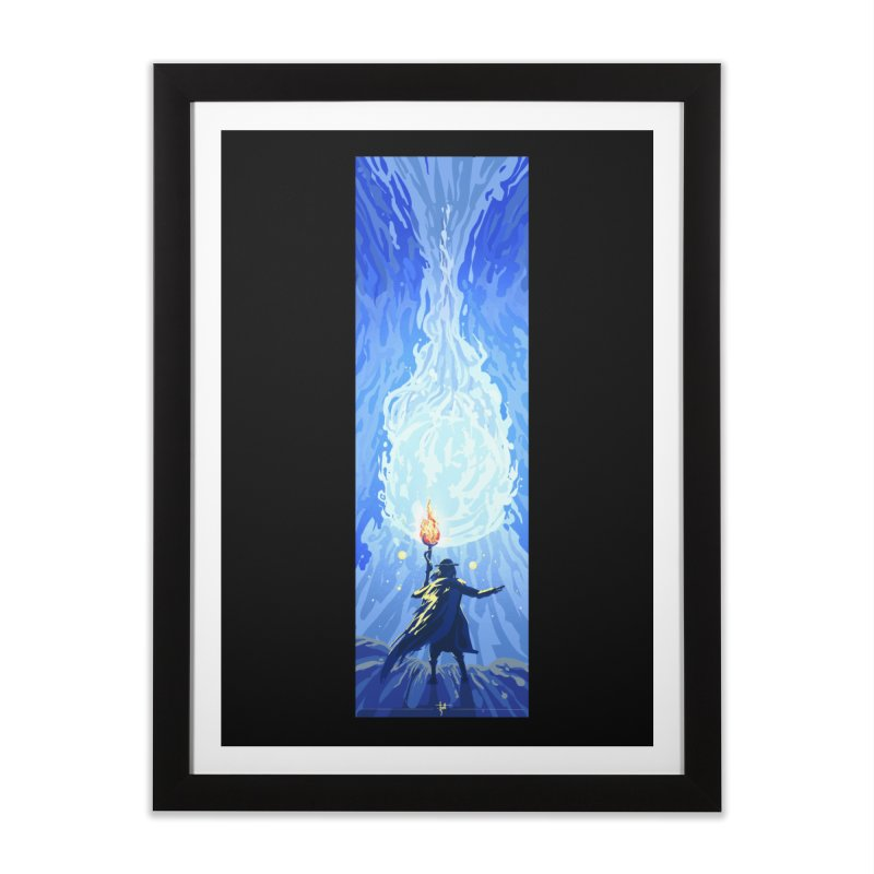 Snow ball Home Framed Fine Art Print by Igzell's Artist Shop