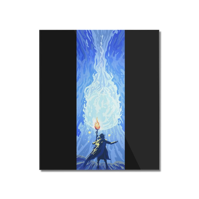 Snow ball Home Mounted Acrylic Print by Igzell's Artist Shop