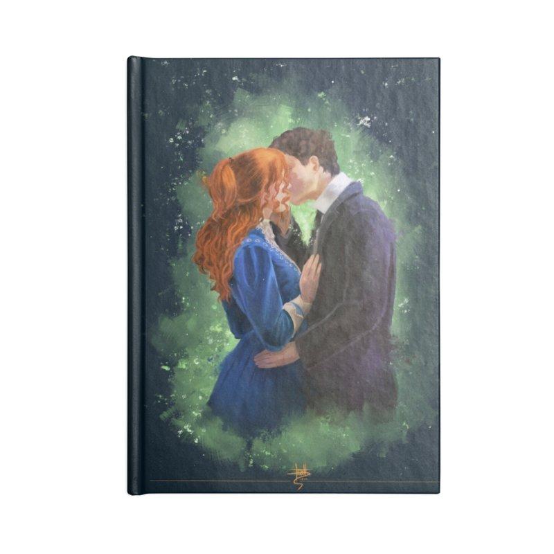 Anne with an E Gilbert Kiss Accessories Blank Journal Notebook by Igzell's Artist Shop