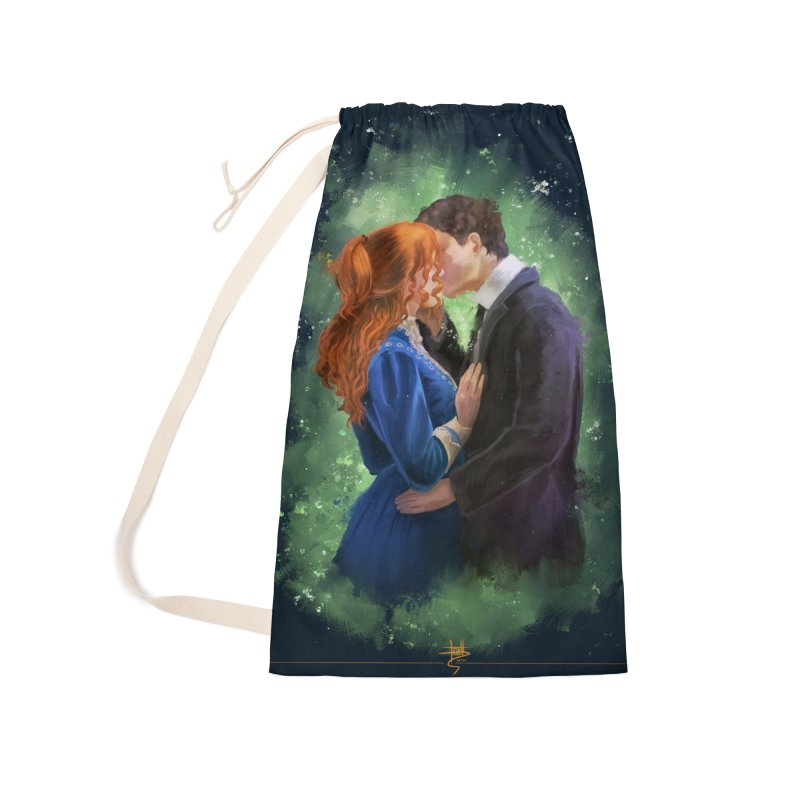 Anne with an E Gilbert Kiss Accessories Laundry Bag Bag by Igzell's Artist Shop