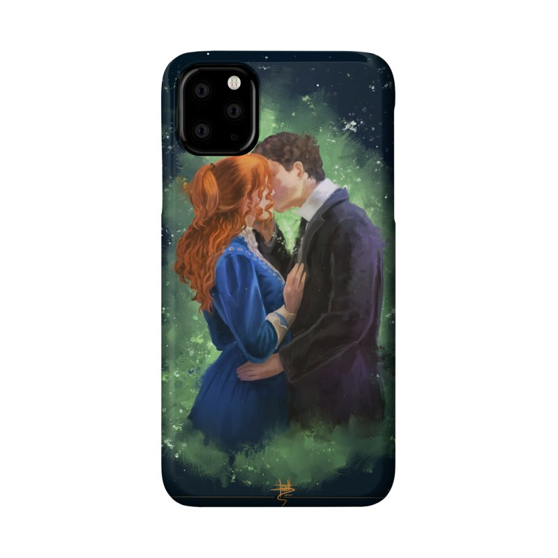 Anne with an E Gilbert Kiss Accessories Phone Case by Igzell's Artist Shop