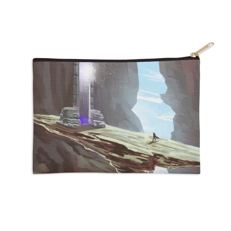 The Portal Accessories Zip Pouch by Igzell's Artist Shop