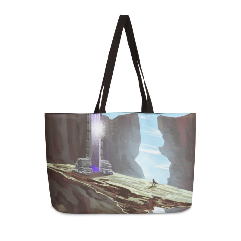 The Portal Accessories Weekender Bag Bag by Igzell's Artist Shop