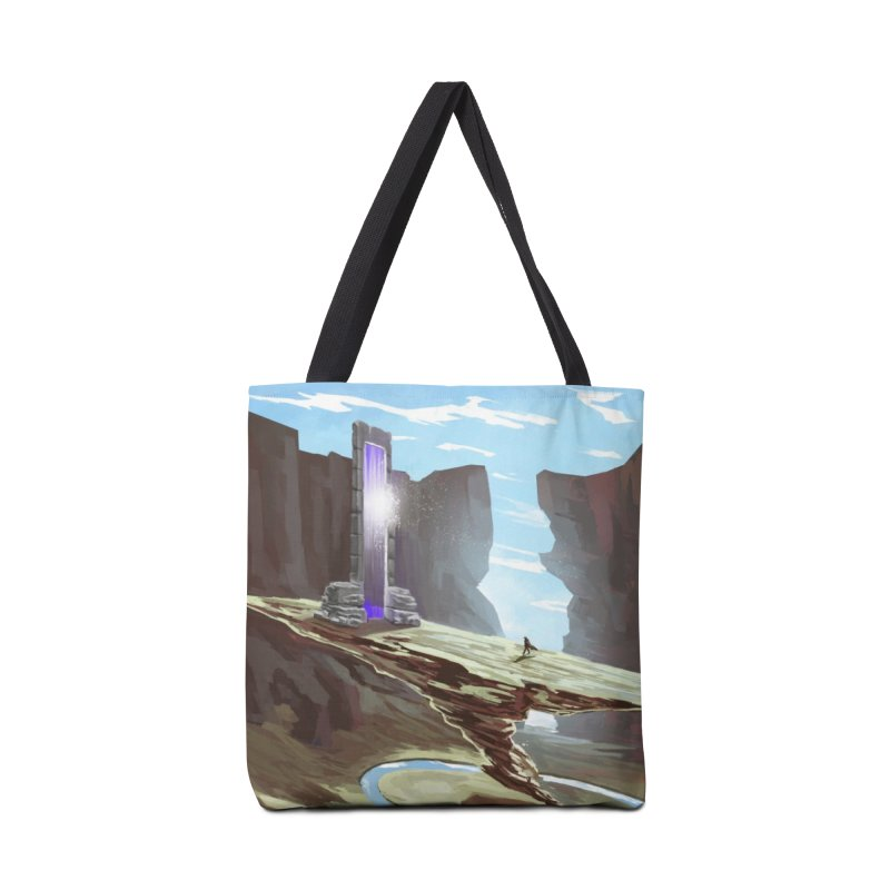 The Portal Accessories Tote Bag Bag by Igzell's Artist Shop
