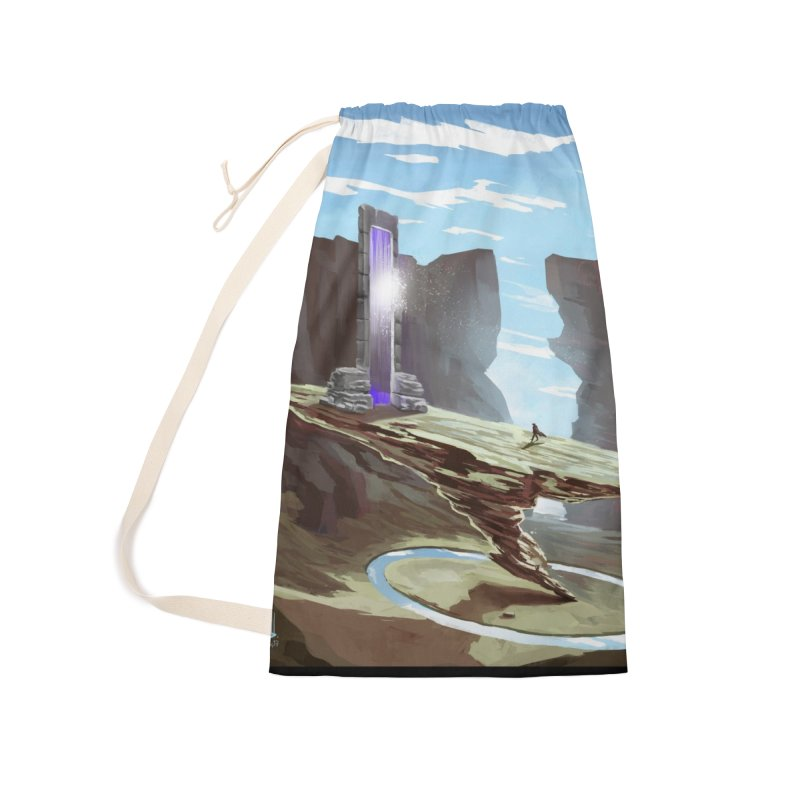 The Portal Accessories Laundry Bag Bag by Igzell's Artist Shop