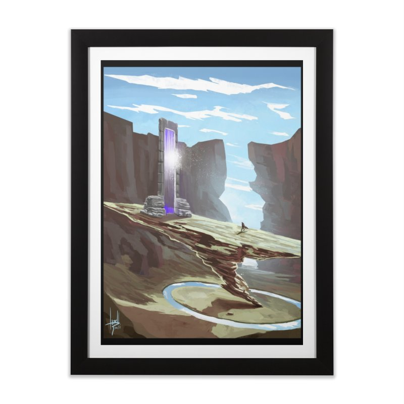 The Portal Home Framed Fine Art Print by Igzell's Artist Shop