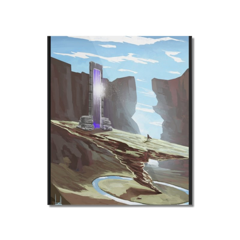 The Portal Home Mounted Acrylic Print by Igzell's Artist Shop
