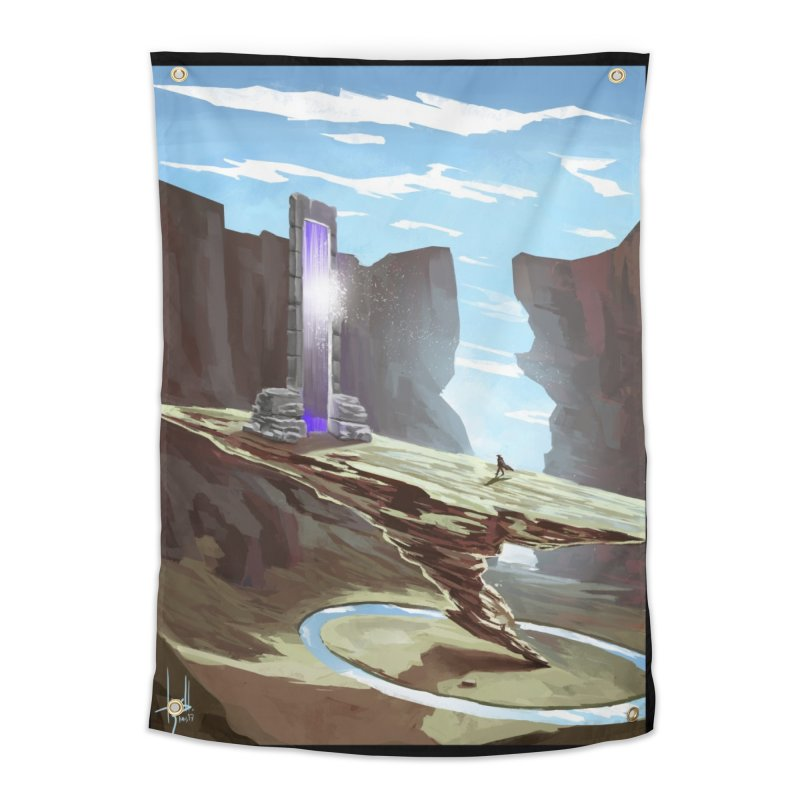 The Portal Home Tapestry by Igzell's Artist Shop