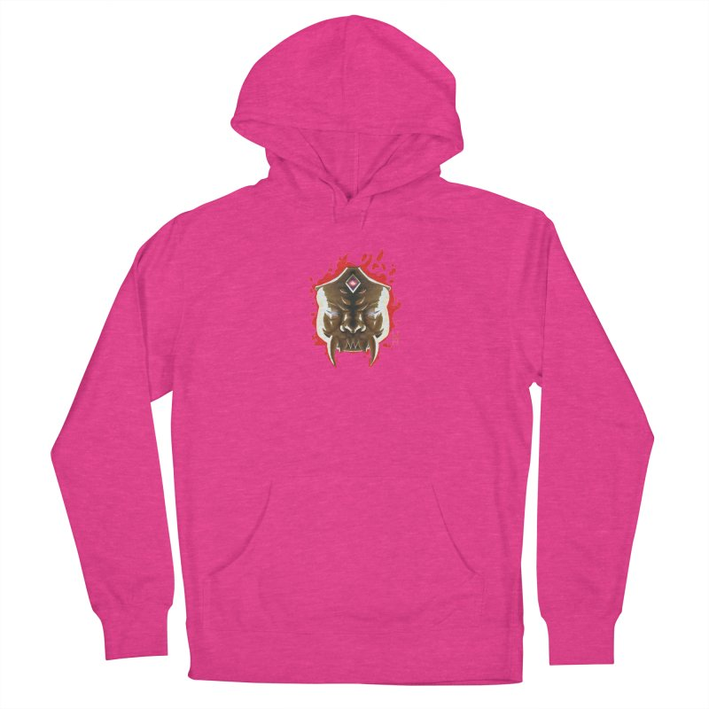 The Mas of the Third Eye Women's French Terry Pullover Hoody by Igzell's Artist Shop