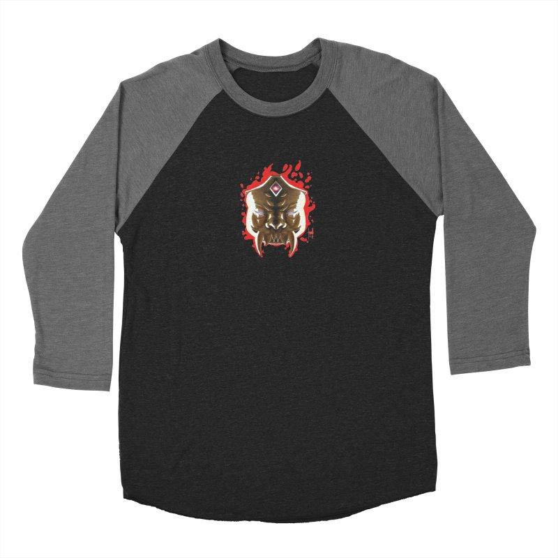 The Mas of the Third Eye Women's Baseball Triblend Longsleeve T-Shirt by Igzell's Artist Shop