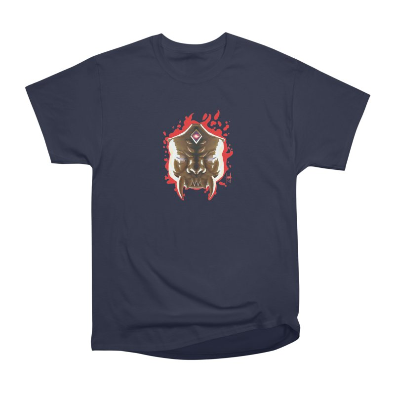 The Mas of the Third Eye Women's Heavyweight Unisex T-Shirt by Igzell's Artist Shop