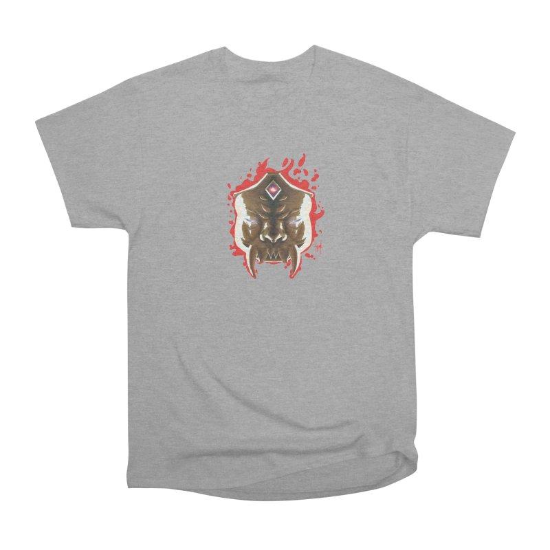 The Mas of the Third Eye Women's Heavyweight Unisex T-Shirt by Igzell's Artist Shop