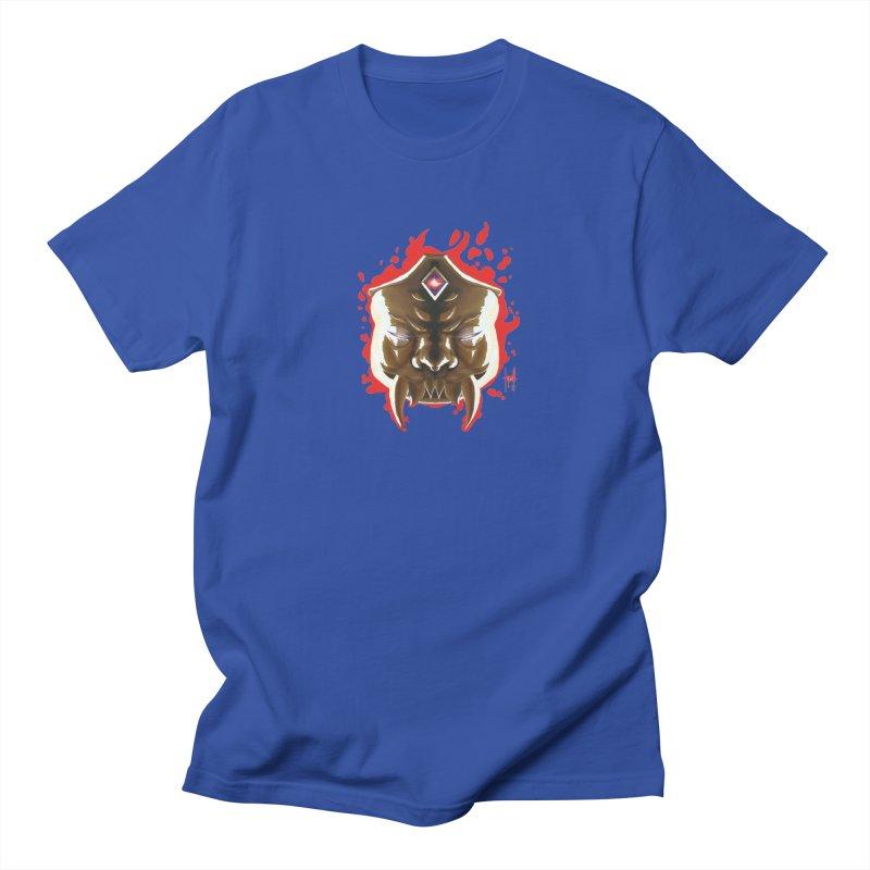 The Mas of the Third Eye Women's Regular Unisex T-Shirt by Igzell's Artist Shop