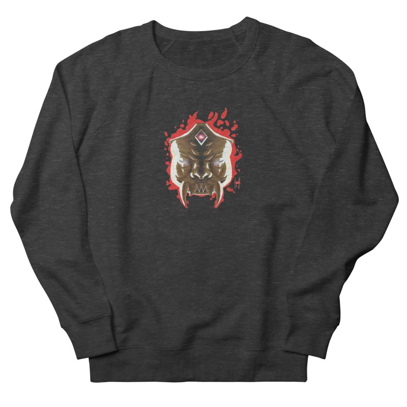 The Mas of the Third Eye Women's French Terry Sweatshirt by Igzell's Artist Shop