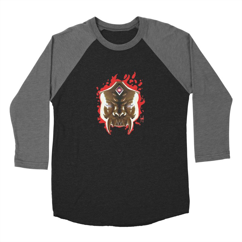 The Mas of the Third Eye Women's Baseball Triblend Longsleeve T-Shirt by Igzell's Artist Shop