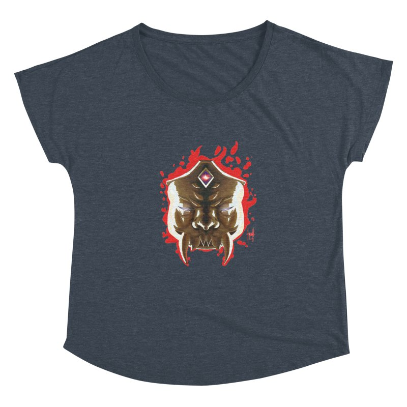 The Mas of the Third Eye Women's Dolman Scoop Neck by Igzell's Artist Shop