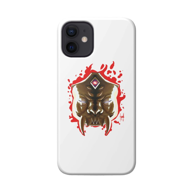 The Mas of the Third Eye Accessories Phone Case by Igzell's Artist Shop