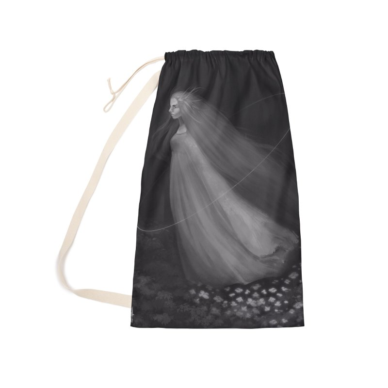 Spirit of the Forest Accessories Laundry Bag Bag by Igzell's Artist Shop