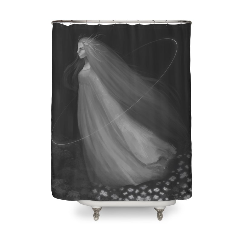 Spirit of the Forest Home Shower Curtain by Igzell's Artist Shop