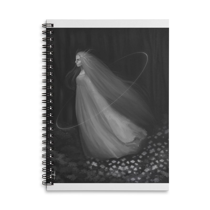 Spirit of the Forest Accessories Lined Spiral Notebook by Igzell's Artist Shop