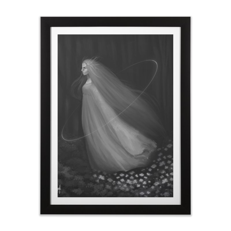 Spirit of the Forest Home Framed Fine Art Print by Igzell's Artist Shop