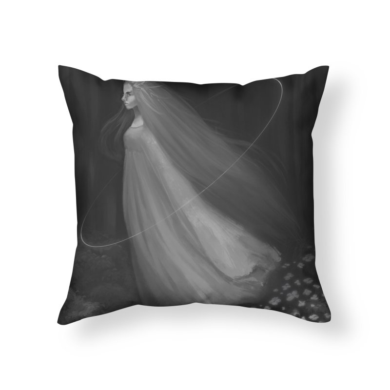 Spirit of the Forest Home Throw Pillow by Igzell's Artist Shop