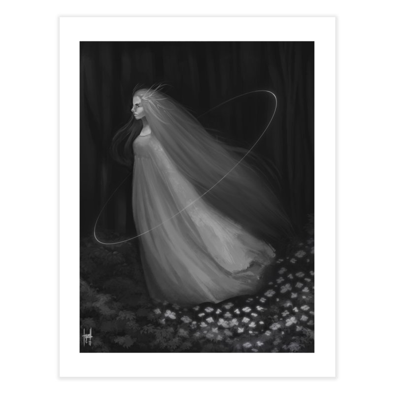Spirit of the Forest Home Fine Art Print by Igzell's Artist Shop