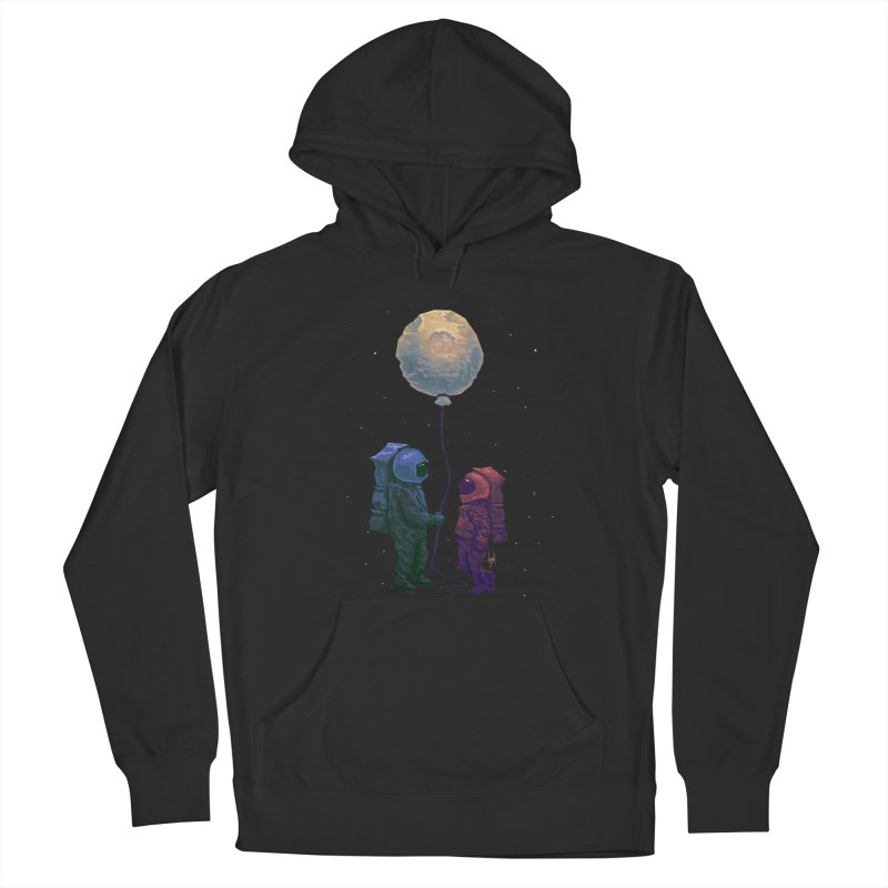 I'd give you the moon... Women's French Terry Pullover Hoody by Igzell's Artist Shop