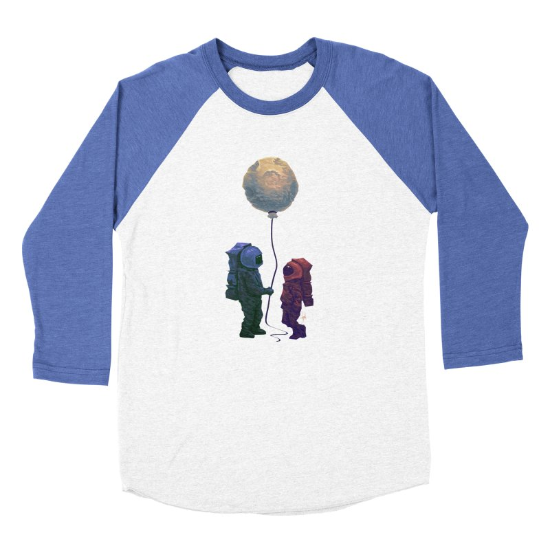 I'd give you the moon... Men's Baseball Triblend Longsleeve T-Shirt by Igzell's Artist Shop