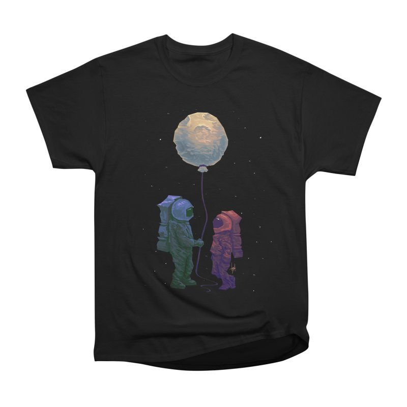 I'd give you the moon... Women's Heavyweight Unisex T-Shirt by Igzell's Artist Shop