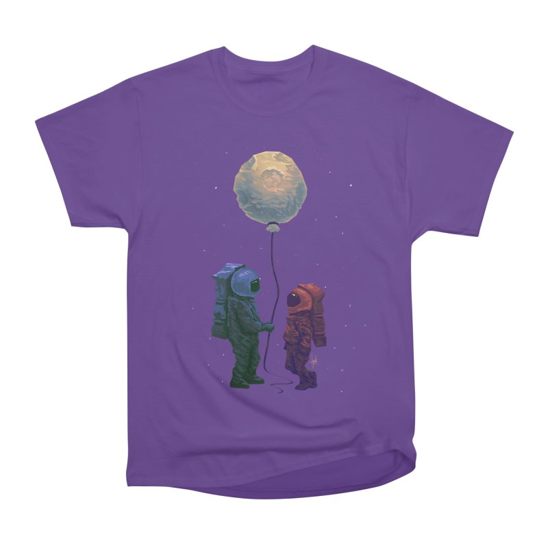 I'd give you the moon... Men's Heavyweight T-Shirt by Igzell's Artist Shop