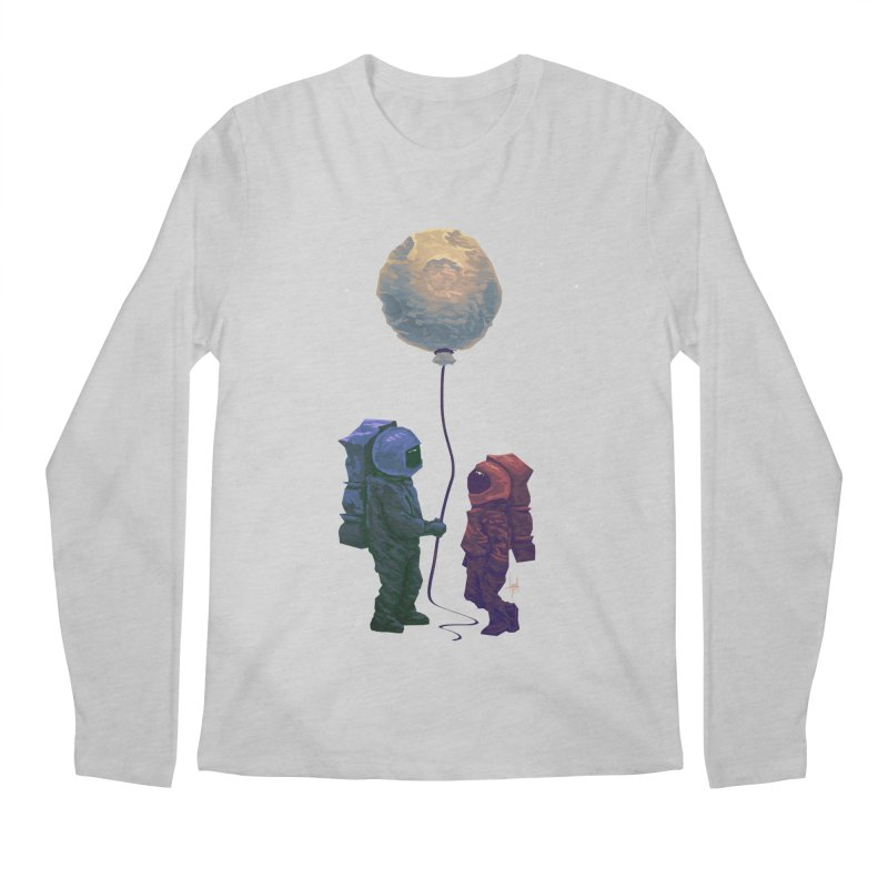 I'd give you the moon... Men's Regular Longsleeve T-Shirt by Igzell's Artist Shop