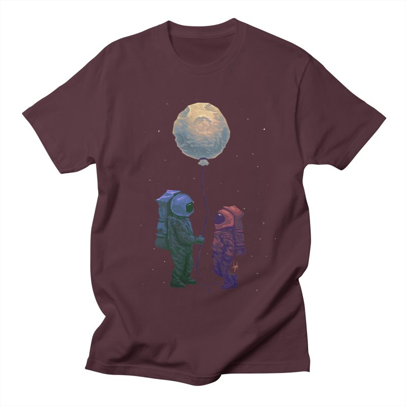 I'd give you the moon... Men's Regular T-Shirt by Igzell's Artist Shop