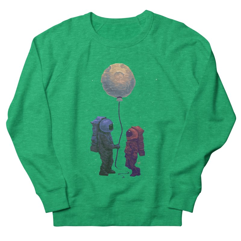 I'd give you the moon... Women's French Terry Sweatshirt by Igzell's Artist Shop