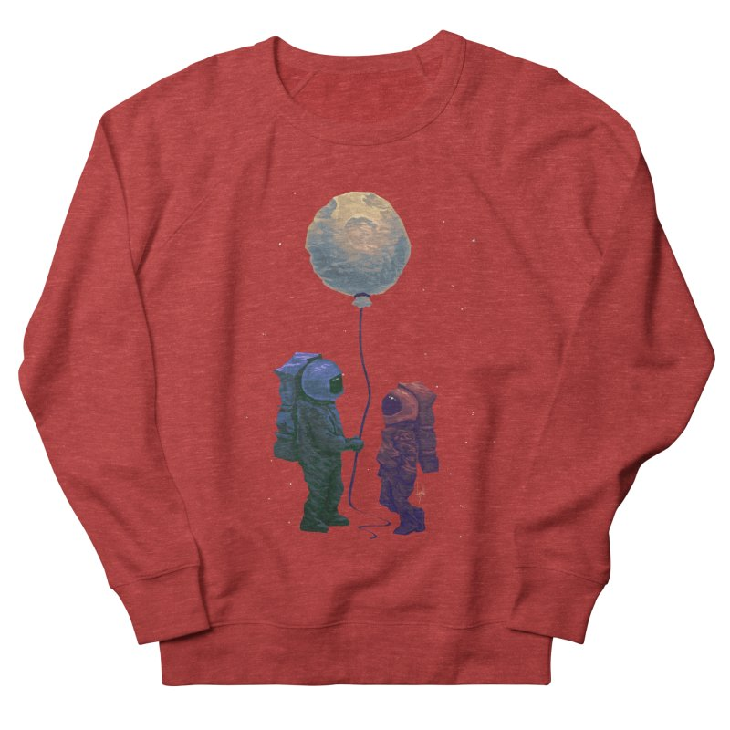 I'd give you the moon... Men's French Terry Sweatshirt by Igzell's Artist Shop